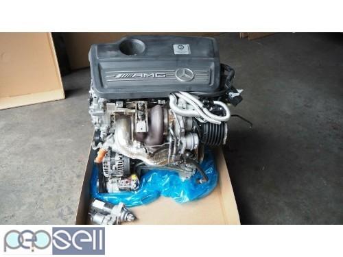 MERCEDES BENZ W176 A45AMG 2.0L 2015 M133980 ENGINE 0
