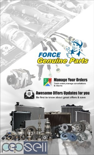 Buy Force Motors Genuine spare parts online. 0