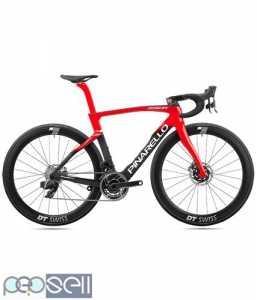 2022 Pinarello Dogma F Red eTap AXS Disc Road Bike (Price USD 9900)