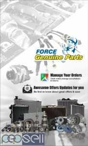 Buy Force Motors Genuine spare parts online.